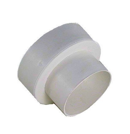 Plastic 4 inch to 3 inch Duct Reducer - UEV34RWH