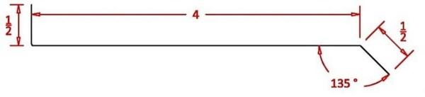 """Counter Flashing 5"""" - CF5"""