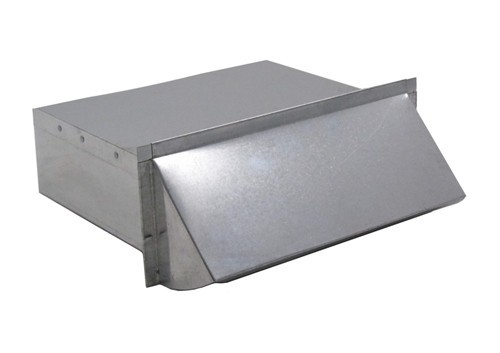 Rectangular Wall Vent 3-1/4 in. X 10 in. - Galvanized - WV310G