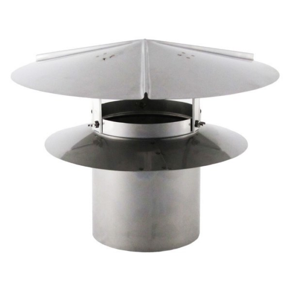 Universal Chimney Cap - Stainless Steel - UCSS