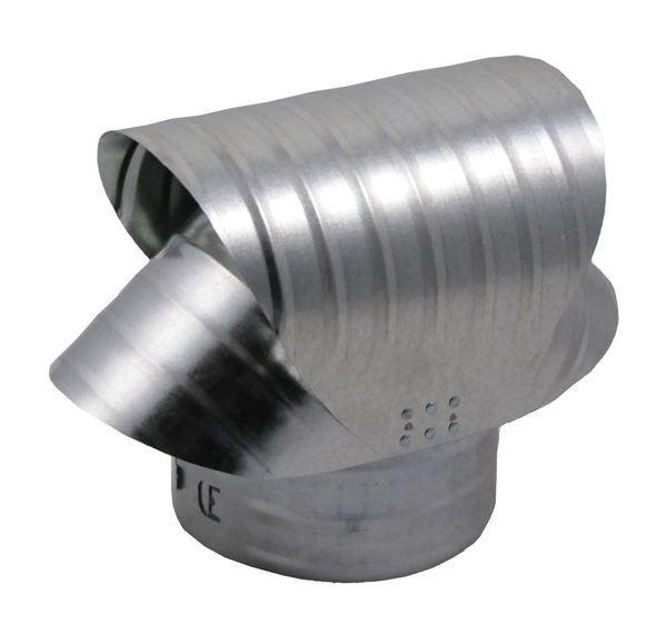 Round Base Chimney Vacuum Cap - Aluminum - VCA