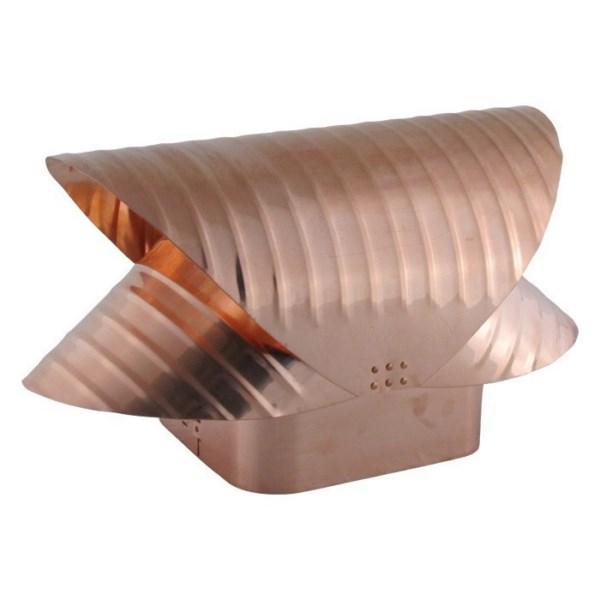Square Flue Vacuum Cap – Copper - SQCU