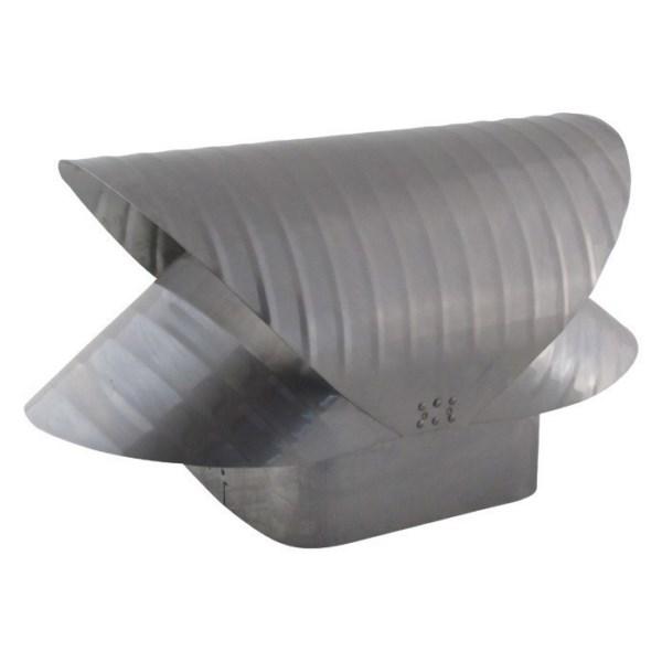 Square Flue Vacuum Cap - Stainless Steel - SQSS