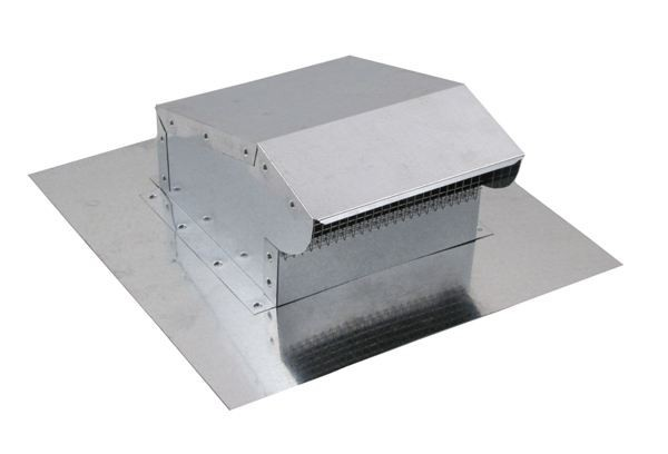 Bath Fan / Kitchen Exhaust - Roof Vent - Galvanized - BK