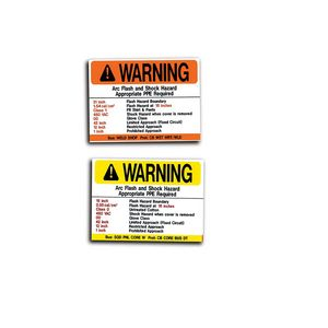 MS-900 Arc Flash Labels