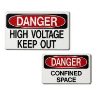 MS-215 Rigid Operation/Safety Signs