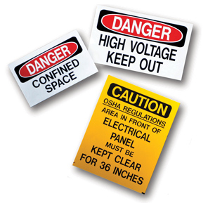 MS-900 Self Adhesive Operational and Safety Signs