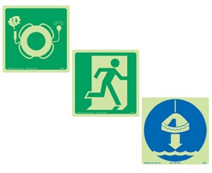 IMO Life Saving and Rescue Signs