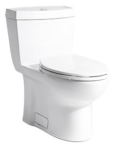 A - 0.8 GPF Single Flush One-Piece Stealth® Toilet