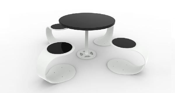 The Spring Seats and Table - The Spring Seats and Table