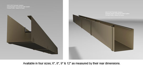 Industrial Series Gutters Southern Aluminum Finishing Co