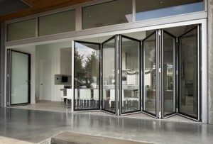 Folding Glass Walls