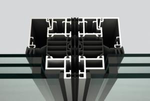 SL82 Structurally Glazed, Thermally Broken Aluminum Framed Folding System