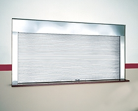 Fire-Rated Commercial Rolling Counter Doors