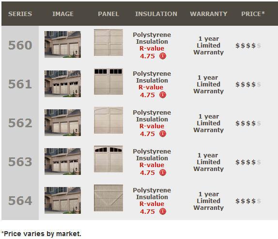 Signature™ Carriage Collection Garage Doors