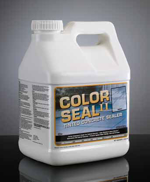 Color Seal II™ Tinted Concrete Sealer & Curing Compound