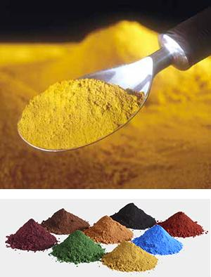 Powder Pigments for Concrete and Masonry Construction