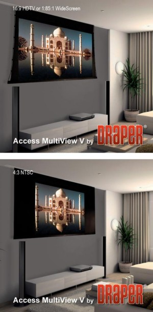 Access MultiView/Series V Projection Screen
