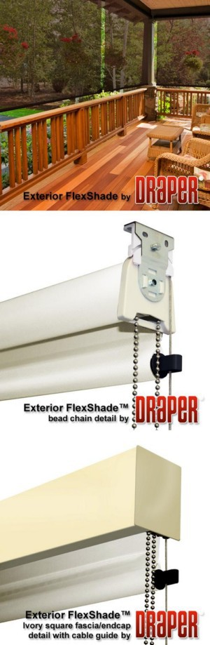 Exterior FlexShade - Clutch Operated