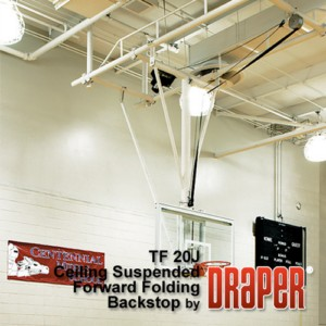 Forward Folding Basketball Backstops