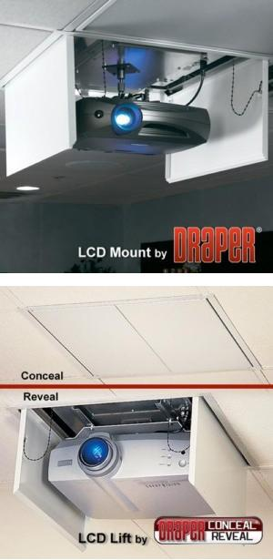 LCD Lift - Motorized Projector Lift
