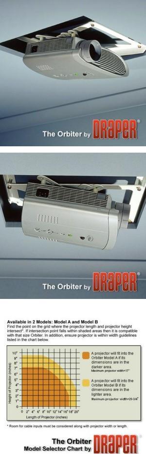 Orbiter Recessed Projector Lift