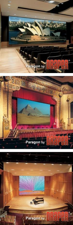 Paragon/Series E Electric Projection Screen