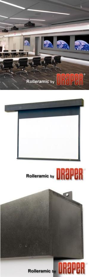 Rolleramic Electric Projection Screen
