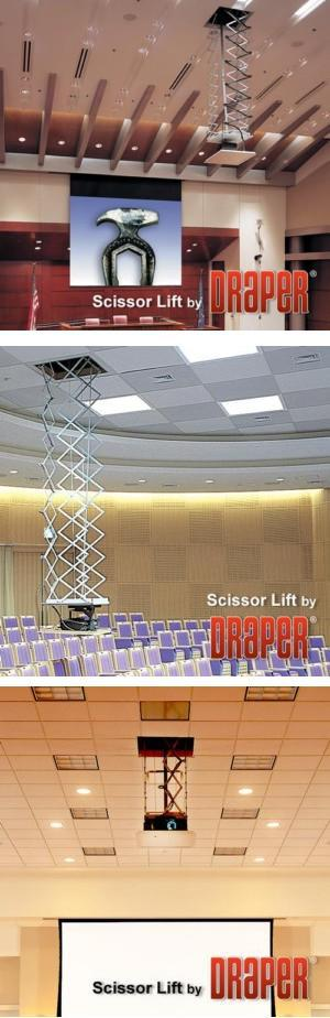 Scissor Lift SL - Motorized Projector Lift