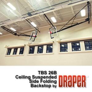 Side Folding Basketball Backstops