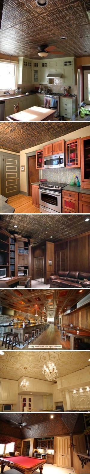Nail-Up Tin Ceiling Panels