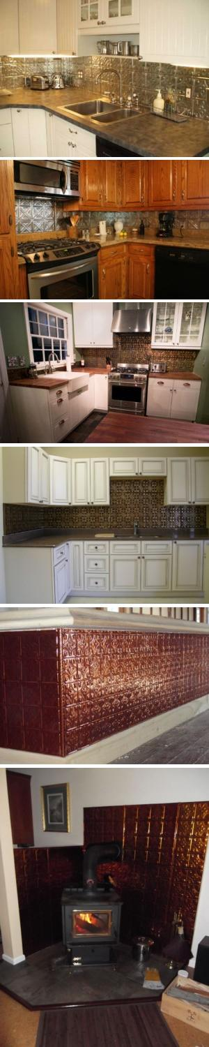 tin backsplash tiles - American Tin Ceilings