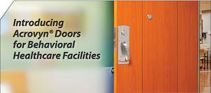 Acrovyn Barrier Resistant Doors