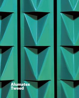 ALUMATEX TWEED Vision Barriers