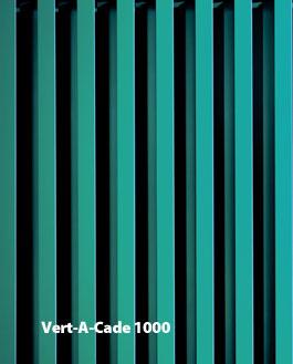 VERT-A-CADE 1000 Vision Barriers