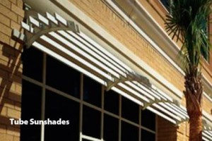 Tube Cantilevered & Suspended Sunshades