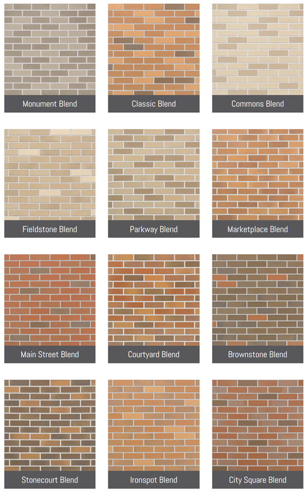 METROBRICK Color and Finish Options - METROBRICK by ...