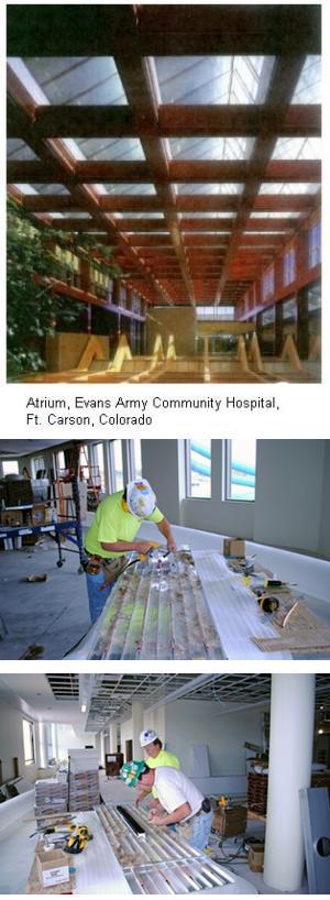 Extruded Aluminum Radiant Ceiling Panels