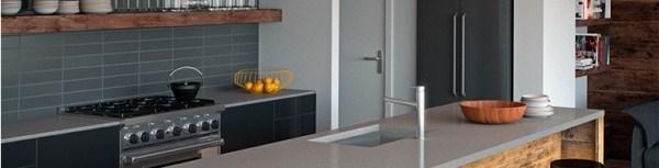 4003 Sleek Concrete - Classico Collection Quartz Surfaces