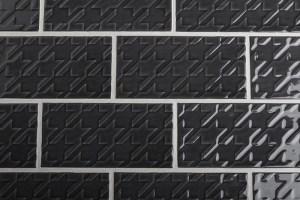 Ceramic Tile - Antracite Motivi 2