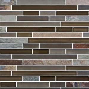 Mosaic Glass - Brazilian Salvador Brick