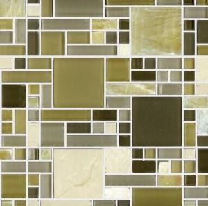 Mosaic Glass - Geo Onyx Glass