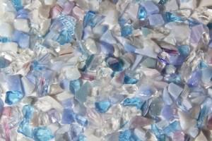 Terrazzo Aggregates - Blue Skies Glass