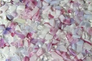 Terrazzo Aggregates - Cherry Blossom Glass