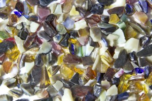 Terrazzo Aggregates - Earth Blend Glass