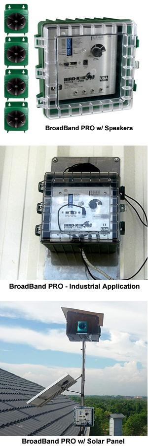 BroadBand PRO Sonic/Ultrasonic Bird Control System