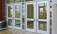 Heavy Duty Aluminum Entrance Doors & Frames - Durafront Series 800 & 850