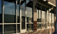 Blast Resistant Storefront Systems - Series BR604 & BR606