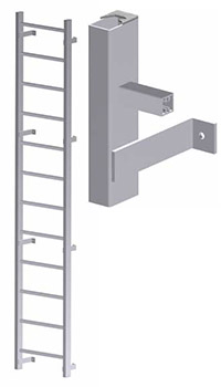 Hatch Access Heavy Duty Vertical Ladder - U200