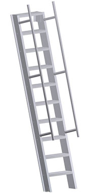 Hatch Access Ladder – U-502